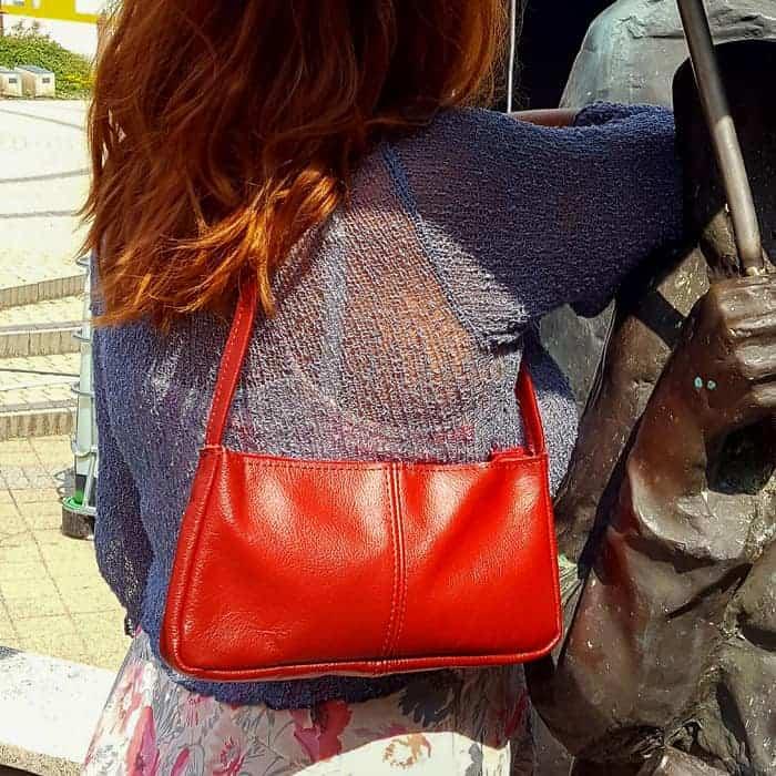 kožená kabelka JANE